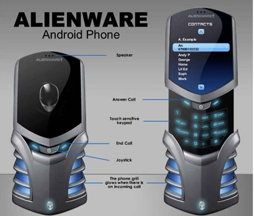 Alienware screen